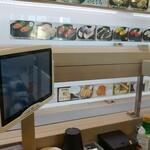 かっぱ寿司 - レーンは注文配膳時のみ