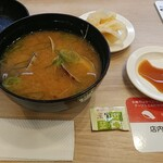 かっぱ寿司 - あさり汁