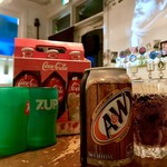 ミスタービーフ ダイニング - ドリンク写真:当店といえばルートビア。アメリカではコーラかルートかと言うぐらい人気です。