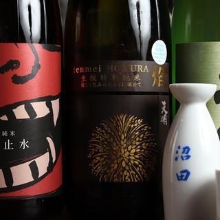 今月のおすすめ日本酒&本格焼酎