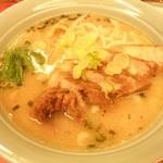珍々ラーメン - 「 ダーロー麺(豚の煮込み) 」 ¥600