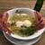 ラーメン ドゥエ エド ジャパン - 料理写真:ラーメンとチーズ、生ハムのフロマージュ