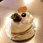 クルミ - 料理写真:レアチーズ