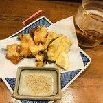 ニュールーシー - 蛸の天ぷら