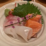 肉・海鮮料理ふじ - セットの魚料理