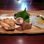 nihonryourisugawara - 4種の料理
