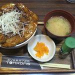 豚公司 堀江 - 帯広ぶた丼 680円