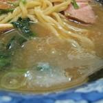 らーめん 文蔵 - スープ