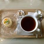 イロドリ ミント カフェ - 月替わりランチのデザート