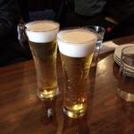 ピッツェリア バル ナプリモ - ドリンク写真:生ビール