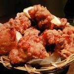 koshitsudenikubaruonikudeenkai - 地鶏の塩唐揚げ