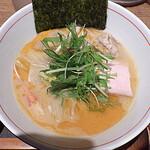 麺と心 7 - 料理写真:花咲ガニの濃厚蟹そば 2019年ver.(2019年12月限定)