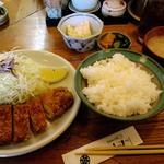 志津川 - とんかつ定食