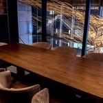 広尾 花椒庭 - 【半個室①】4〜6名様テーブル席