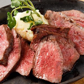 【国産黒毛和牛】当店自慢!こだわりの赤身肉の炭焼きグリル