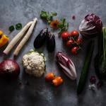 nice - 完全自然農法野菜でサラダを