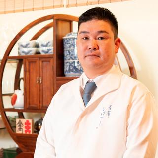 小林雄二氏(コバヤシユウジ)─日本料理の真髄を、器の上で表現