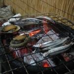 漁火 - きびなご焼くところ