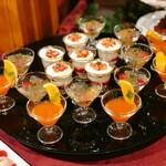 ラ・テラス - このフルーツジュレのグラスは食べてないかも??