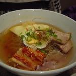 安楽亭 - 冷麺(細麺)