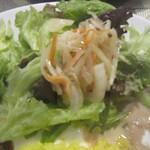 これく亭 - サラダ