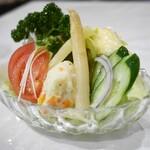 煉瓦亭 - 野菜サラダ