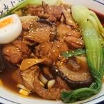 seiammensoushintouki - 2019.12・红烧鸡肉香菇面 900円(税込)