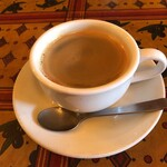 ガニュ・パン - 食後のコーヒー