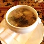 ガニュ・パン - 蕪と新じゃがキャベツのチャウダースープ