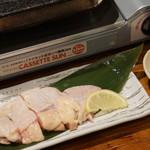 日本酒ダイニング 吉之助 - 地鶏もも肉