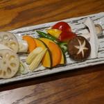 日本酒ダイニング 吉之助 - 新鮮野菜盛り合わせ