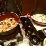 オールデイダイニング カメリア - 和食の煮物もかぼすの鍋