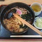 手打ちそば たぬきや - 料理写真:たぬき蕎麦¥600-