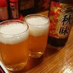 121458416 - 瓶ビール(キリン秋味)