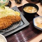 Tonkatsumaisen - 紅豚 特製ロースかつ定食 豚汁変更