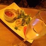 ウラロジック - 前菜盛り合わせ × スパークリング