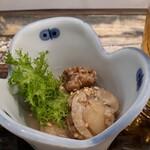 鯛の王様 - ホタテの煮物