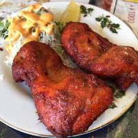 インド料理 プルニマ-チキンティカを2個で注文(^_^)