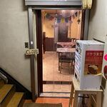 マサラ食堂 - 店入り口