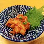 産直仕入れの北海道定食屋 北海堂 - カレイのエンガワユッケ 398円