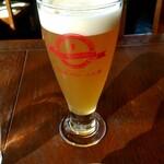 ビアレストラン 門司港地ビール工房 - ヴァイツェンのグラス(320ml)480円