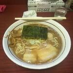 美豚 - 煮魚出汁ラーメン味玉(990円)