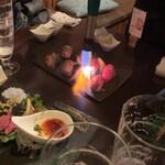 難波×肉バル×個室 暁 -