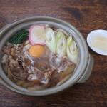 食事処 きくち - 料理写真:すき焼きうどん