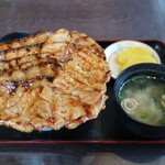 ぶたいち - ミックス大盛り(1160円)