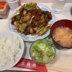 三貴苑 - 回鍋肉ランチ