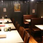 うなぎの竹若 - 奥の席は20~24名様の貸し切りも可能です。
