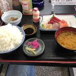 すぎ原 - Dランチ(刺身定食)