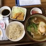 花笠食堂 - 味噌汁定食
