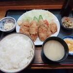 Izakayauogen - カキフライ定食 980円